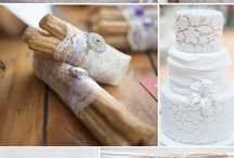 """Lace Wedding Decor / by """"I Do""""...Balloons, Weddings, & Events"""