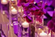 """Candle Centerpieces / by """"I Do""""...Balloons, Weddings, & Events"""