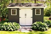 Sheds & Outdoor Storage / by Evelyn Fredrich