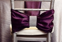 """Chairs / by """"I Do""""...Balloons, Weddings, & Events"""