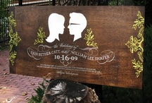 """Wedding Signs / by """"I Do""""...Balloons, Weddings, & Events"""
