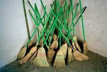 Brooms / Witches' favorite way to get places