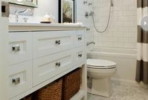 Upgrade Your Bathroom / Give your bathroom the VIP treatment! Check out some of our inspiration for a happy, healthy home.