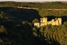 Château de Roussillon / Medieval castel near Toulouse in France, for rent for a wedding