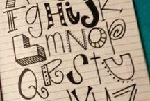 Fonts & Drawings / favorite fonts