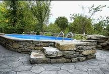 Landscaping/Decks/Pools / Pools, Decks, Plants & trees