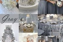 """Gray Wedding / by """"I Do""""...Balloons, Weddings, & Events"""