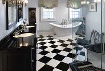 Black and White Home / Home remodels with a black and white theme by members of the Milwaukee/NARI Home Improvement Council, Inc.
