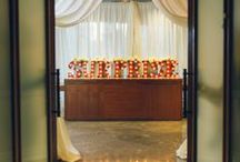 SEASONS Ceremonies / Host your ceremony inside our Seasons room with these unique settings.