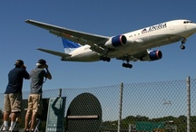 Plane Spotting / Observación de aviones / Corcho para poner fotos de aficionados a la aviación de todo el mundo y algunas mías.