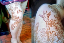 My henna: animals and insects