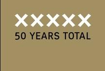 50 Years Total // Total Design – Total Identity / xxxxx 50 Years Total Founders Dick Schwarz, Friso Kramer, Benno Wissing, Ben Bos, Paul Schwarz, Wim Crouwel