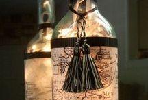 Inspiration Vin / Le vin sous une forme ou sous une autre. De l'art, et pas pour des cochons.