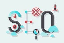 SEO / SEO = search engine optimization. It's the key to helping potential customers find your business online.