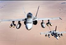 McDonnell Douglas (now Boeing) F/A-18 Hornet / U.S. military aircrafts