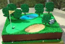 SWAYGOLFCAKE / Golf inspired cakes and cup cakes