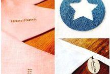 LinnenKids slingers | garlands / linnen naamslingers/geboorteslingers, met strass, jeans of velours letters