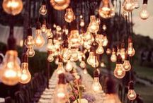 Fantastic Wedding Lighting / Need some ideas for uplighting or monograms? We can help you out!
