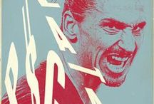 Posters // Zlatan Ibrahimovic / Soccer // Poster // Voetbal // Fútbol // Calcio // Football // Futebol // Fußball Soccer posters // Voetbal posters