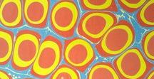 colorful pattern design / handmade gouache marbled paper surface patterns design made in Venice Italy