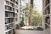 Book Nooks / Cute corners and alcoves, perfect for getting lost in a book