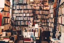 Bookshop Heaven / Bookshops I'd love to explore and get lost in...
