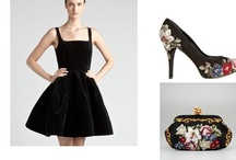 that black dress / by Laura