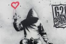 Street Art:  Banksy and So Much More! / by Don Salm