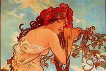 Art Deco & Art Nouveau:  An Echo of Deco, A Trousseau of Nouveau / by Don Salm