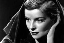 Katharine Hepburn / The greatest photos of one of the two best actresses in American cinema (Meryl Streep, the other).  Kate the Great...and for good reason....magnificent! / by Don Salm