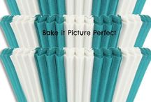Cupcake Baking Cups / Cupcake Baking Liners for Picture Perfect Cupcakes