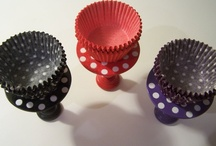 Cupcake Stands / For a picture perfect tablescape! Individual Cupcake Stands for your guests.