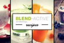 Blend-Active™ Recipes / The Breville Blend-Active™ is an individual-sized blender and stylish sport bottle - in one! Blend your favourite ingredients right into the sports bottle and take it on the run or wherever you...whether you fancy a smoothie, protein shake or breakfast drink in the gym, work or home.