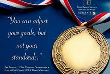 Sports / Inspiration from those in the field of sports.....from Daily Impact Journey Brought to You by Humanex Ventures.