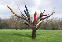 Sculpture-installations / Visual arts,artists