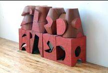 Sculpture Mel Kendrick / Sculpture de bois