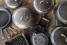 CAST IRON COLLECTION / FINEX Cast Iron Cookware Co's personal collection of cast iron cookware.
