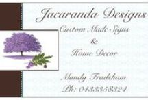 Jacaranda Designs / Hand Painted SIgns and upcycled furniture