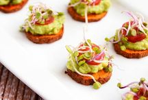 S N A C K S / We share fun plant-based snack ideas along with great appetizer options to bring to any community gathering or social event!