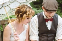 Wedding Style - Inspiration / Design and decor for modern weddings with vintage flair