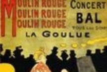 Toulouse Lautrec - Moulin Rouge / Paintings, drawings and posters by Toulouse Lautrec directly related to the Moulin Rouge