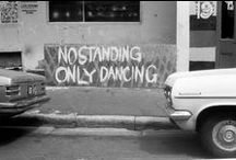 quotes & sayings / 'Talk about dance? Dance is not something to talk about. Dance is to dance.'  ~Peter St. James~