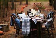 FALL HARVEST DINNER / We love a great Fall Harvest Dinner!