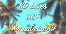 KD Loves UCF! / Epsilon Omicron Chapter loves the UCF Knights!