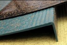 Sustainable Flooring Products / Sampling of products offered by Zandur.