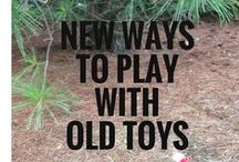 Creative Play Ideas / Creative play you can do with kids, and with things you probably already have.