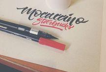 CALIGRAFIA / Inspirações de lettering e caligrafia.
