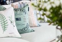 LEXINGTON HOME / The assortment of Lexington is influenced by the typical New England style. We give you a complete design concept for home textiles, with duvets, pillowcases, sheets, bedspreads, blankets and throws as well as terry towels, bathrobes, pajamas, table linen, kitchen towels, aprons, details and different accessories. Every item is produced to the highest standard using only the best materials, design, workmanship and packaging. Find more at www.lexingtoncompany.com