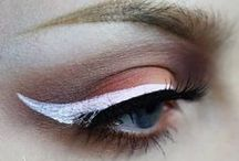 Never Ask a Woman With Winged Eyeliner Why She's Late / May the wings of your makeup always be even!!  xoxo