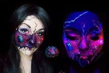 Face Art / Mineral makeup, it's not just for beauty looks anymore!